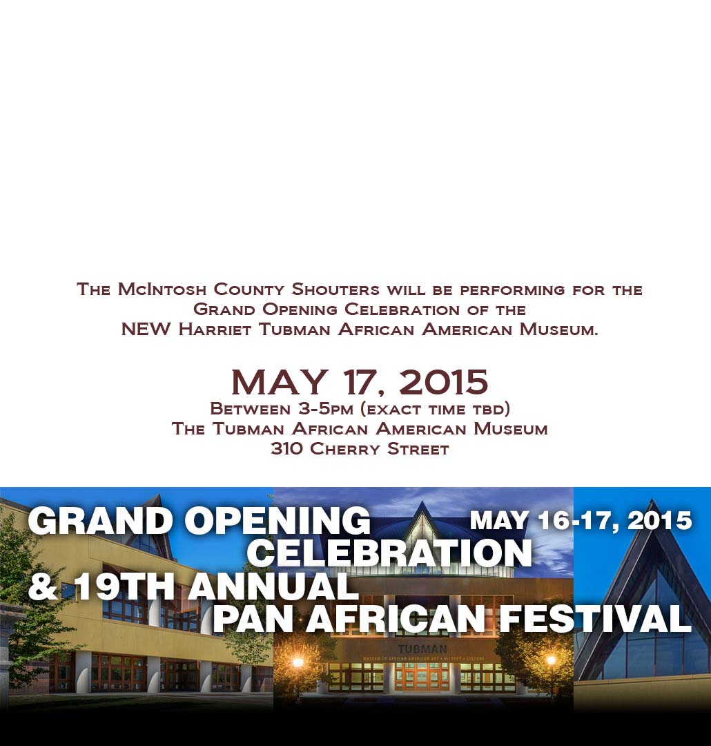 Tubman African American Museum Grand Opening